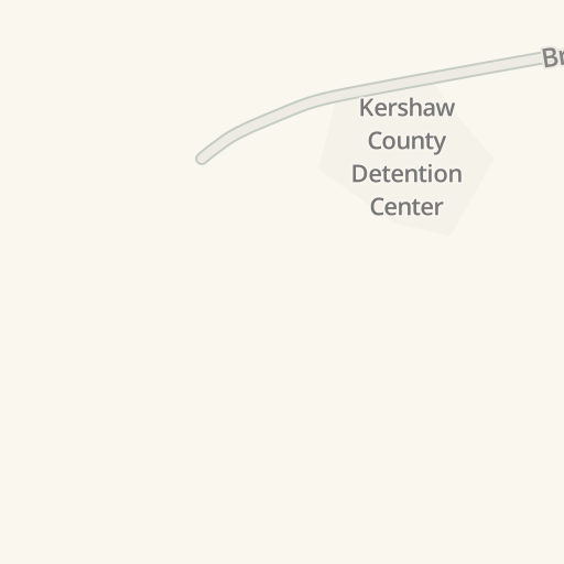 Driving Directions to Kershaw County Detention Center