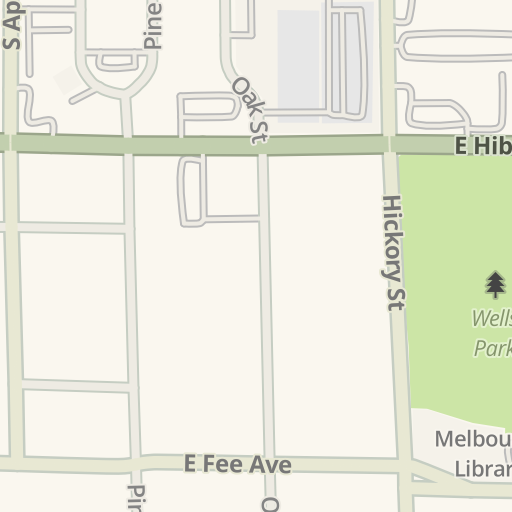 Waze Livemap Driving Directions To Melbourne Same Day Surgery