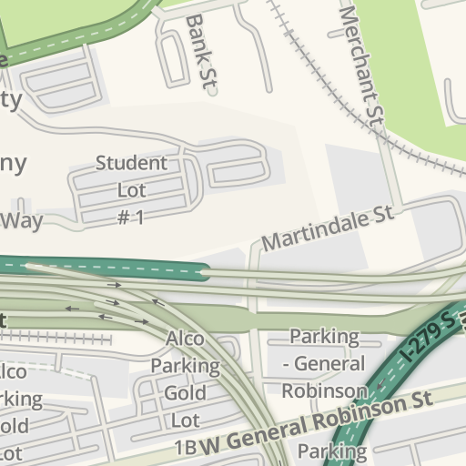 Waze Livemap Driving Directions To Ccac Allegheny Campus Jones