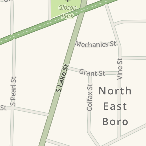 Mercyhurst University Campus Map.Waze Livemap Driving Directions To Mercyhurst University