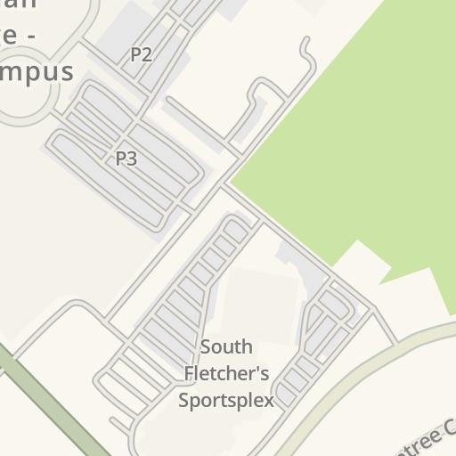 Brampton Canada Map.Waze Livemap Driving Directions To Cimt College Brampton Canada