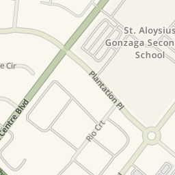 Waze Livemap Driving Directions To St Aloysius Gonzaga