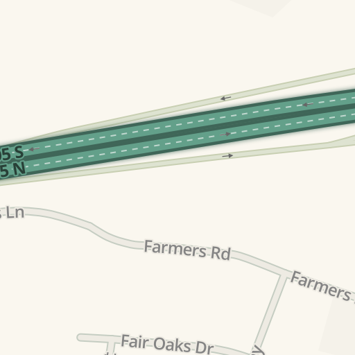 Waze Livemap Driving Directions To Fort Bragg Federal Credit Union
