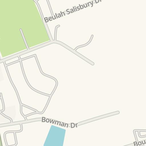 Waze Livemap Como Llegar A Fredericksburg Foot And Ankle Center