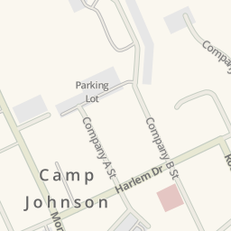 Waze Livemap - Driving Directions to SNCOA BEQ, Camp Johnson, United on
