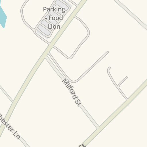 waze livemap - driving directions to food lion, bowling green, united states