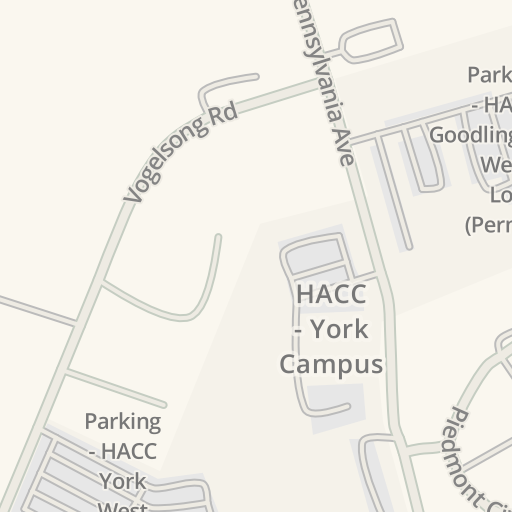 Waze Livemap Driving Directions To Goodling Building Hacc York