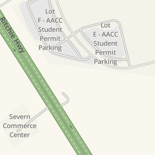 Waze Livemap Driving Directions To Aacc Calt Building Arnold