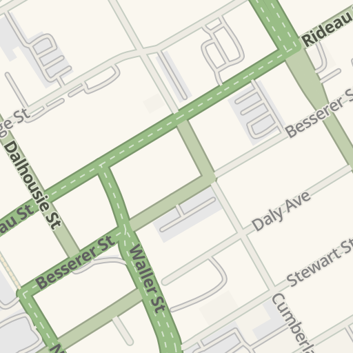 Waze Livemap - Driving Directions to LCBO - Rideau & King Edward ...