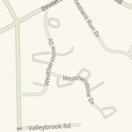 Waze Livemap Driving Directions To Royer Greaves School For The
