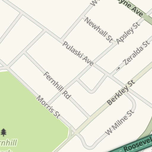 Waze Livemap - Driving Directions to Congleton Funeral Home