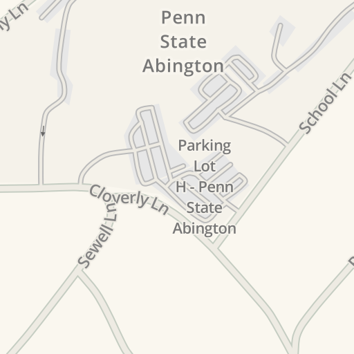 Waze Livemap Driving Directions To Memorial Field Penn State