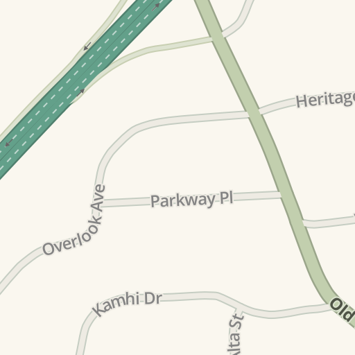 Waze Livemap Driving Directions To Yorktown Funeral Home Shrub