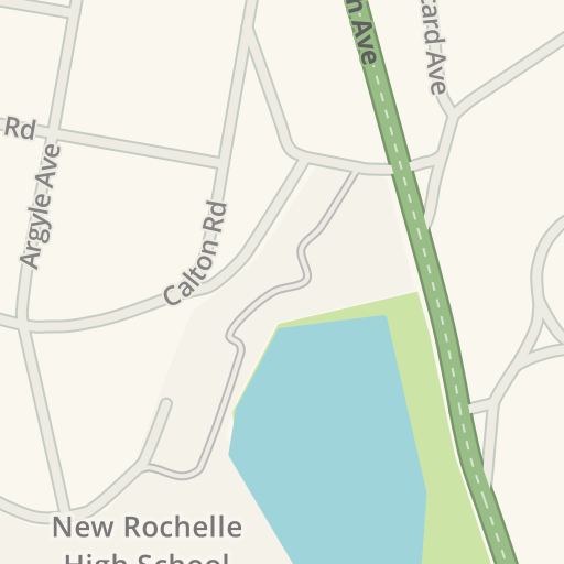 Waze Livemap Driving Directions To New Rochelle High School New