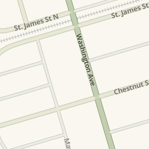 Waze Livemap - Driving Directions to La Nonna Bella Restaurant, Garden City, United States