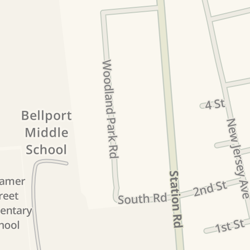 waze livemap driving directions to cvs bellport united states