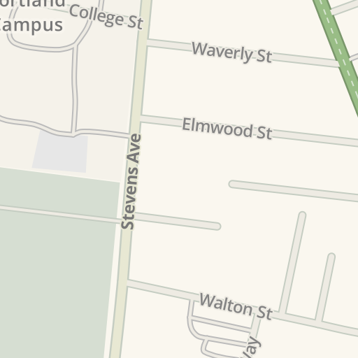 Waze Livemap - Driving Directions to UNE Proctor Hall Parking ...