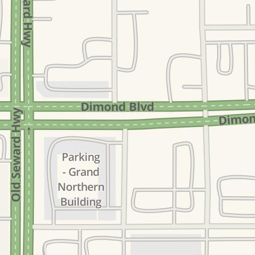 915ec4e7a2f43 Waze Livemap - Driving Directions to Parking - Dimond Center NE Lot ...
