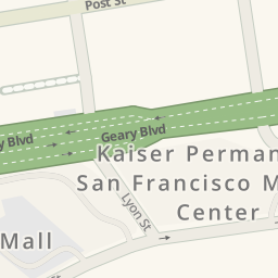 Driving directions to Parking  Trader Joes Rooftop San