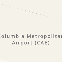 Driving directions to Columbia Metropolitan Airport CAE West