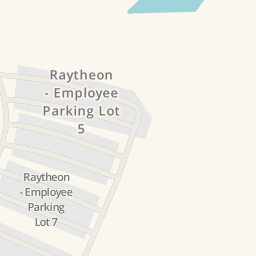 Driving Directions To Raytheon Building Parking Marlborough - Raytheon over the us map